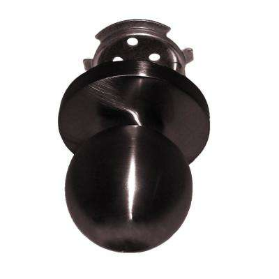 Passage Ball Knob Lock in Oil Rubbed Bronze