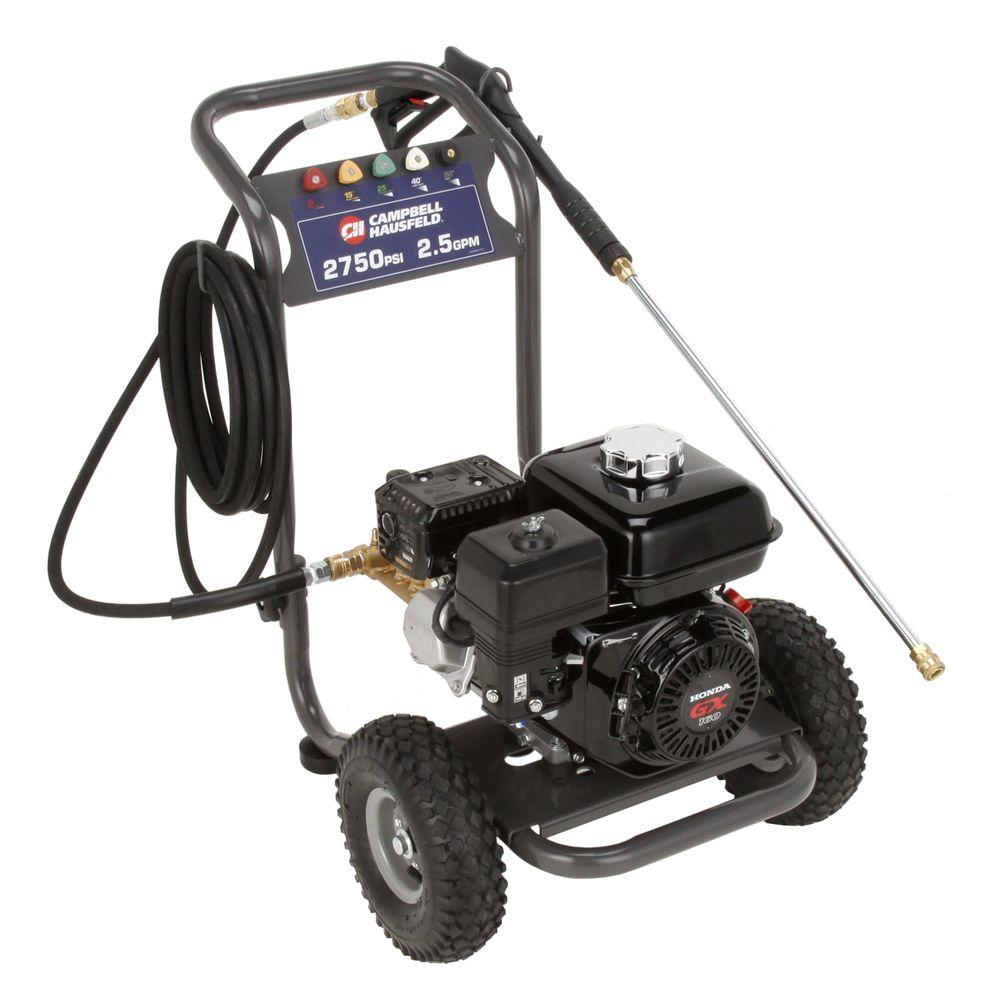 Campbell Hausfeld 2750-PSI 2.5-GPM AR Pump Gas Pressure Washer