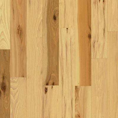 Plano Natural Hickory 3/4 in. Thick x 3-1/4 in. Wide x Random Length Solid Hardwood Flooring (22 sq. ft. / case)