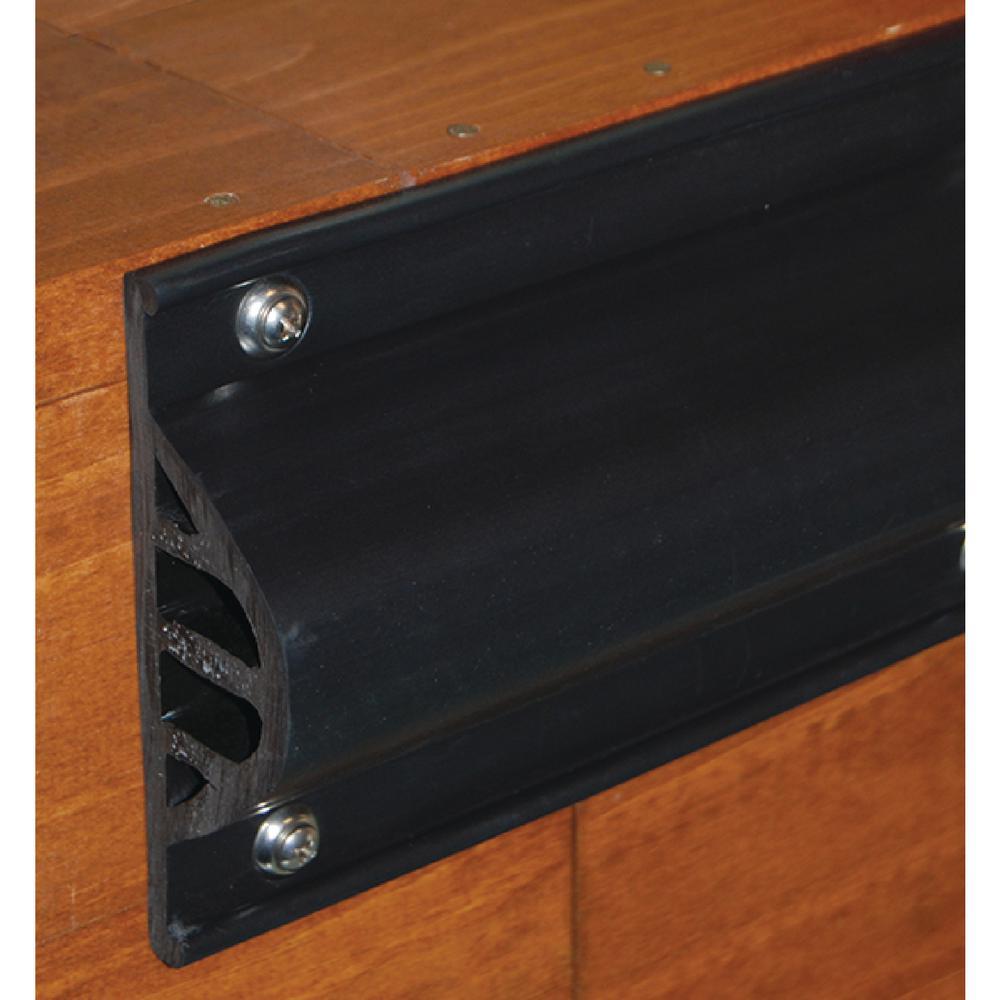 Dock Pro Commercial Grade Premium Side Gard, Black