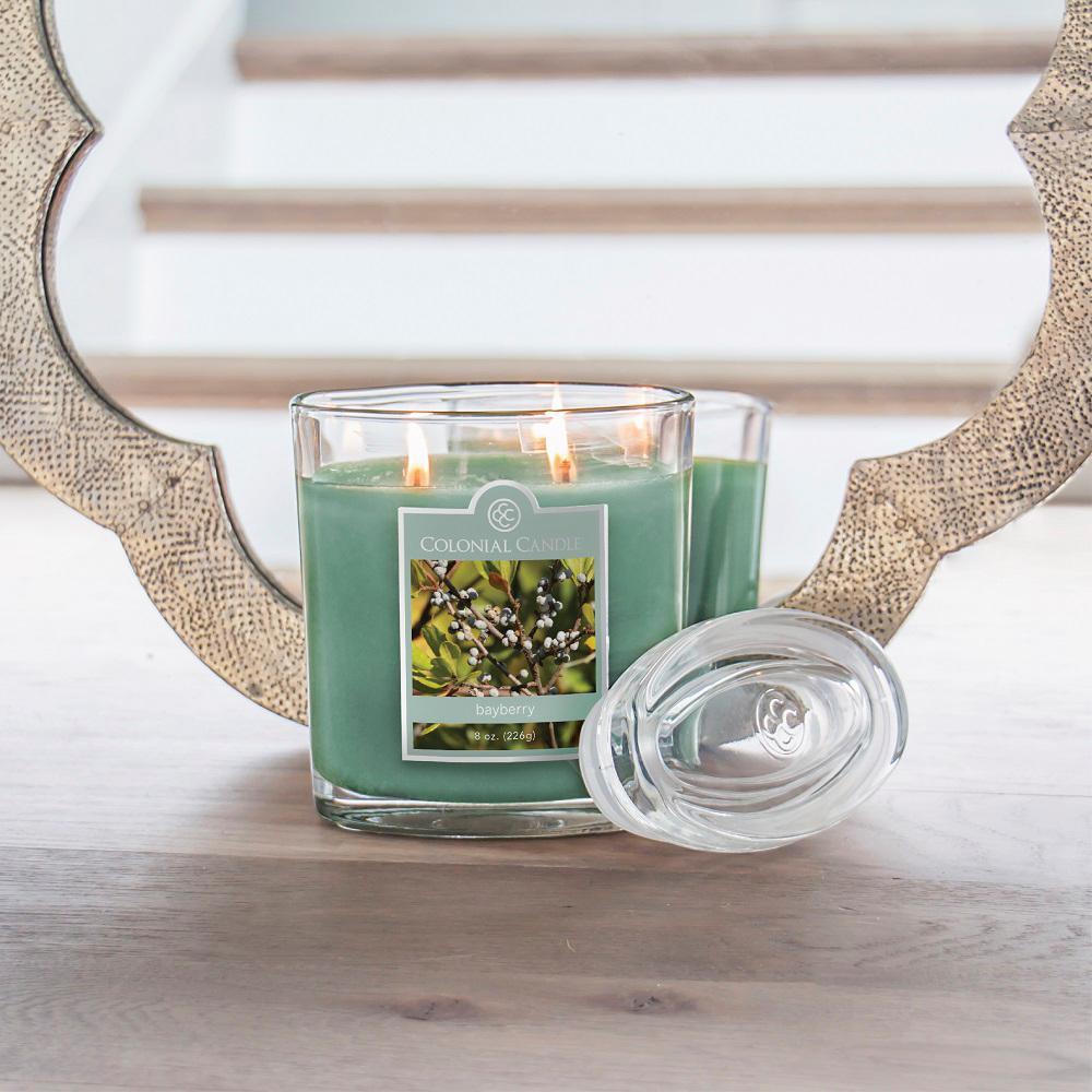 22 oz. Bayberry Oval Jar Candle