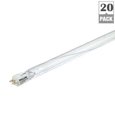200-Watt 3.75 ft. 4-Pin (G10.2q) Linear TUV Amalgam XPT Germicidal Fluorescent Light Bulb (20-Pack)