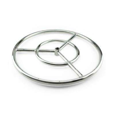 12 in. Stainless Steel Fire Ring Burner
