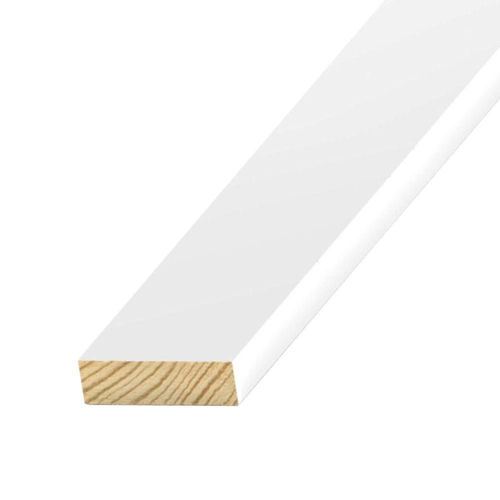 1 in. x 2 in. x 8 ft. S1S2E Primed-Treated Board