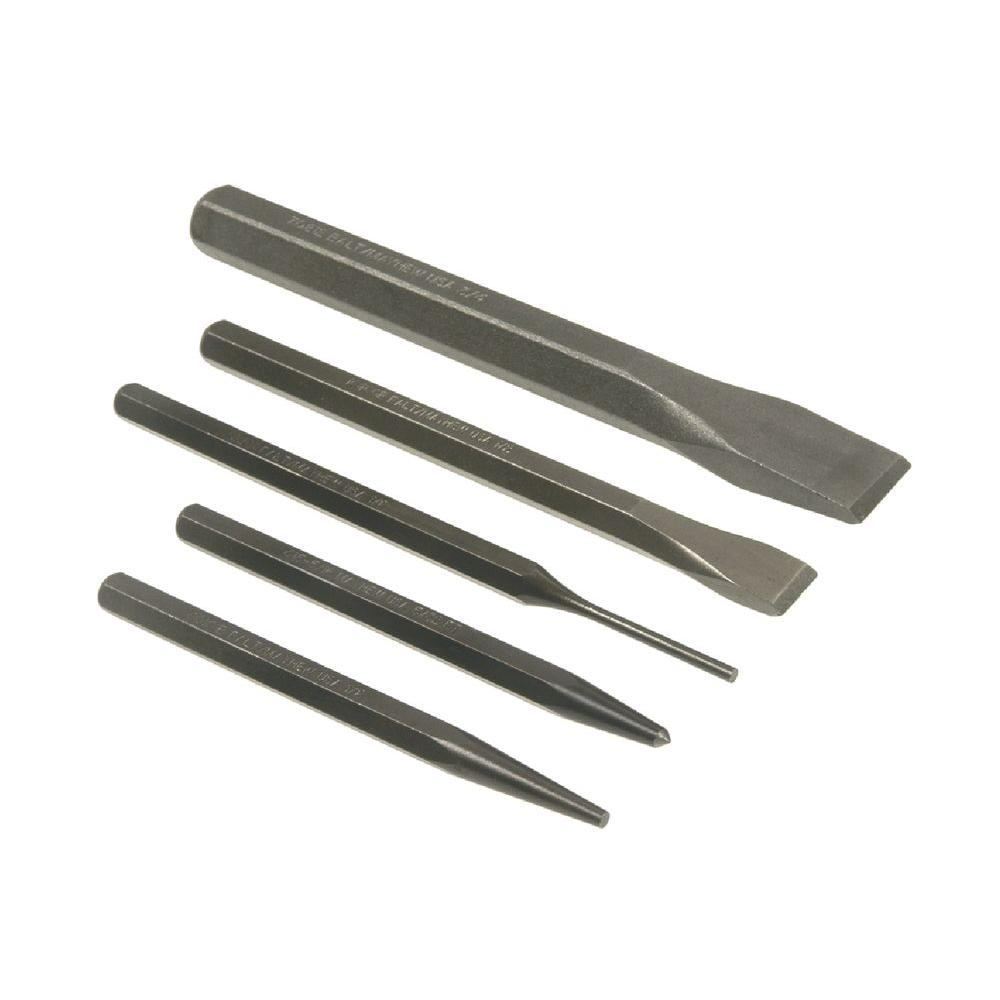 Punch and Chisel Set (5-Piece)