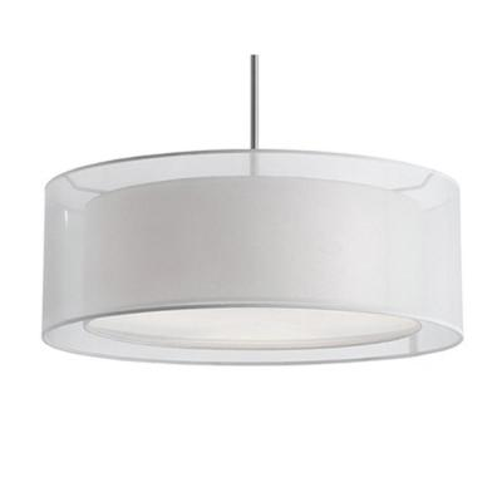 Ophelia 3-Light Brushed Nickel Pendant
