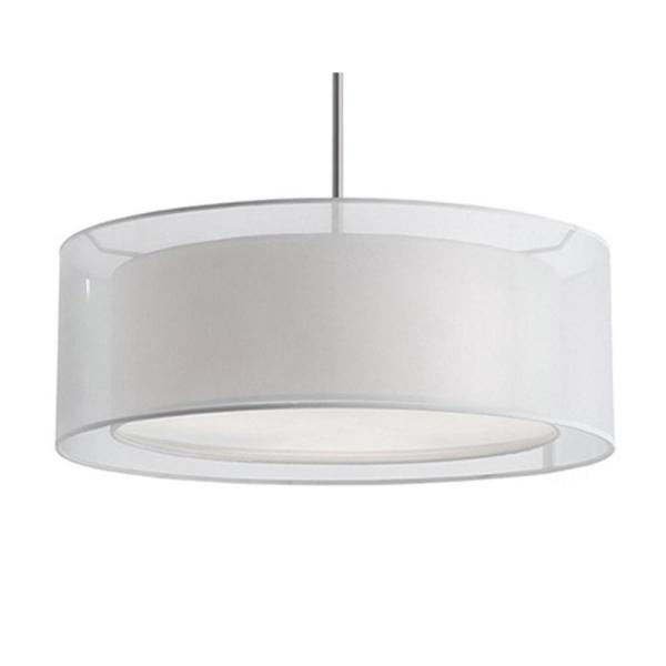 Ophelia 3-Light Brushed Nickel Pendant