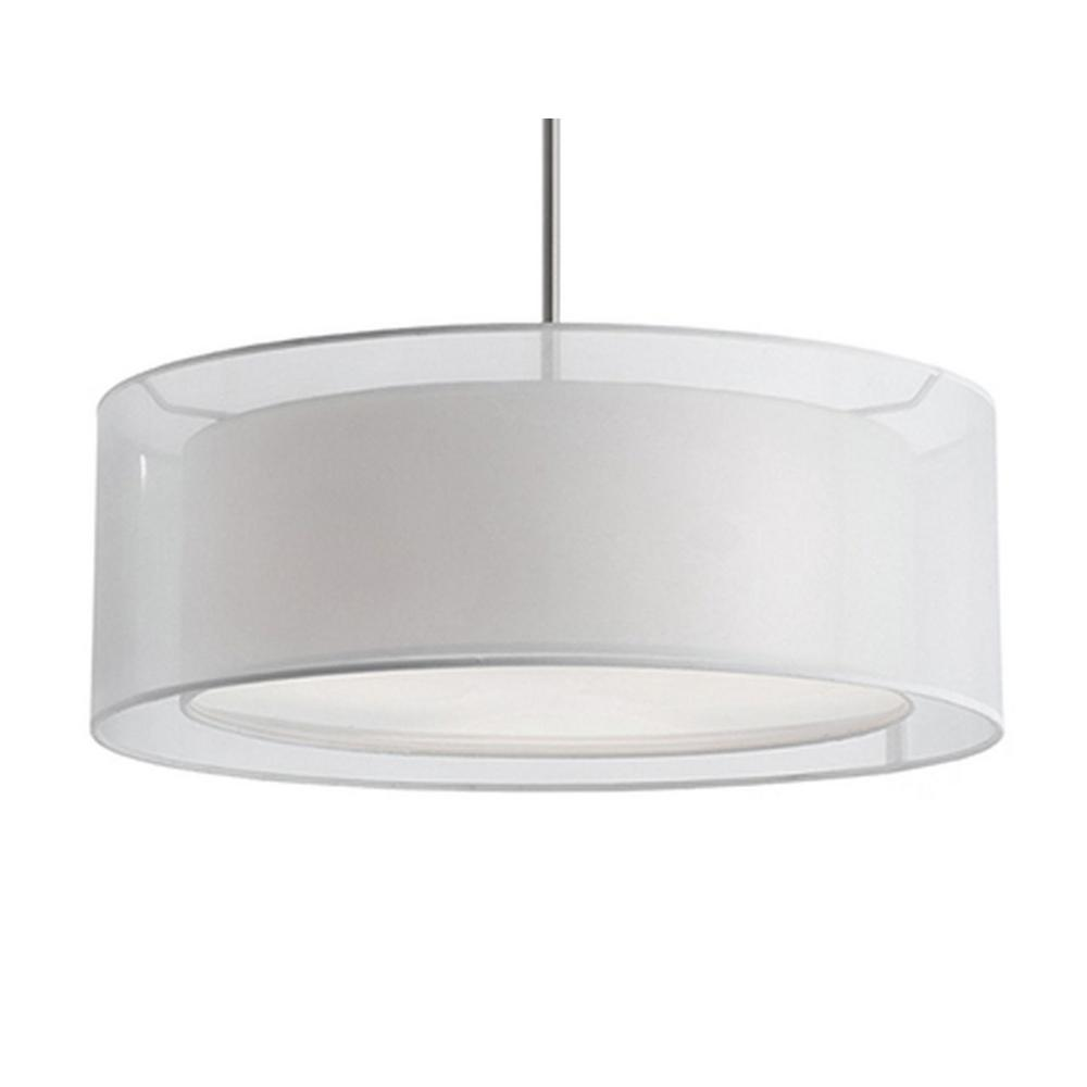 Radionic Hi Tech Ophelia 3-Light Brushed Nickel Pendant