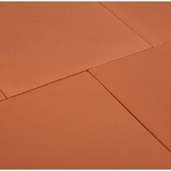 Daltile Red Blaze 6 In X 6 In Ceramic Floor And Wall Tile 11 Sq Ft Case 0q40661p The Home Depot