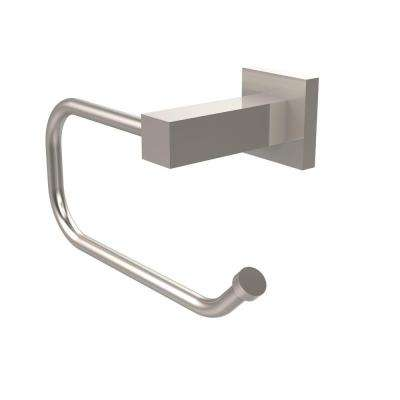 Montero Collection Euro Style Single Post Toilet Paper Holder in Satin Nickel