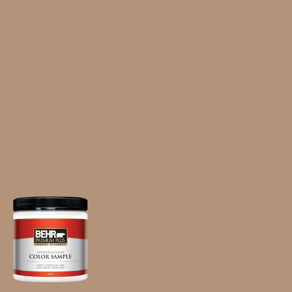 8 oz. #HDC-FL14-6 Gingerbread Latte Zero VOC Interior/Exterior Paint Sample