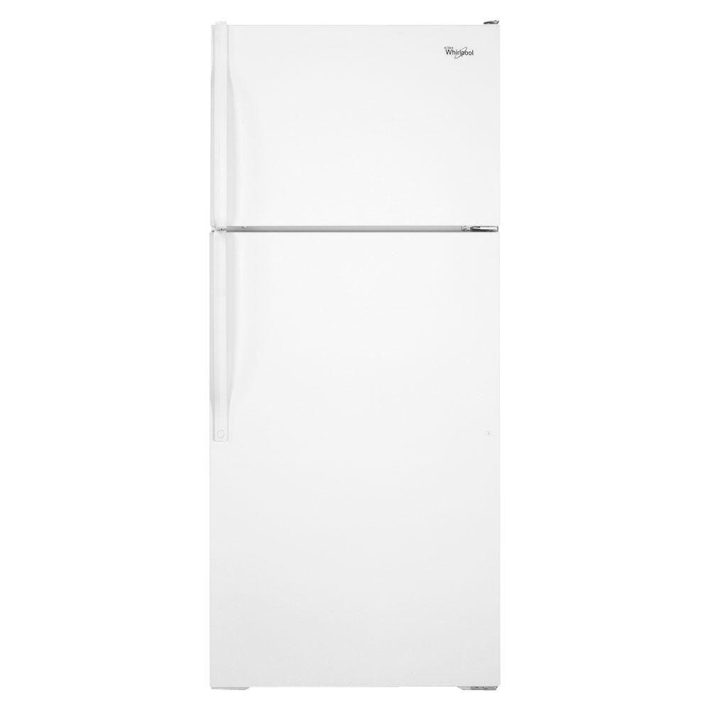 Whirlpool 15.9 cu. ft. Top Freezer Refrigerator in White