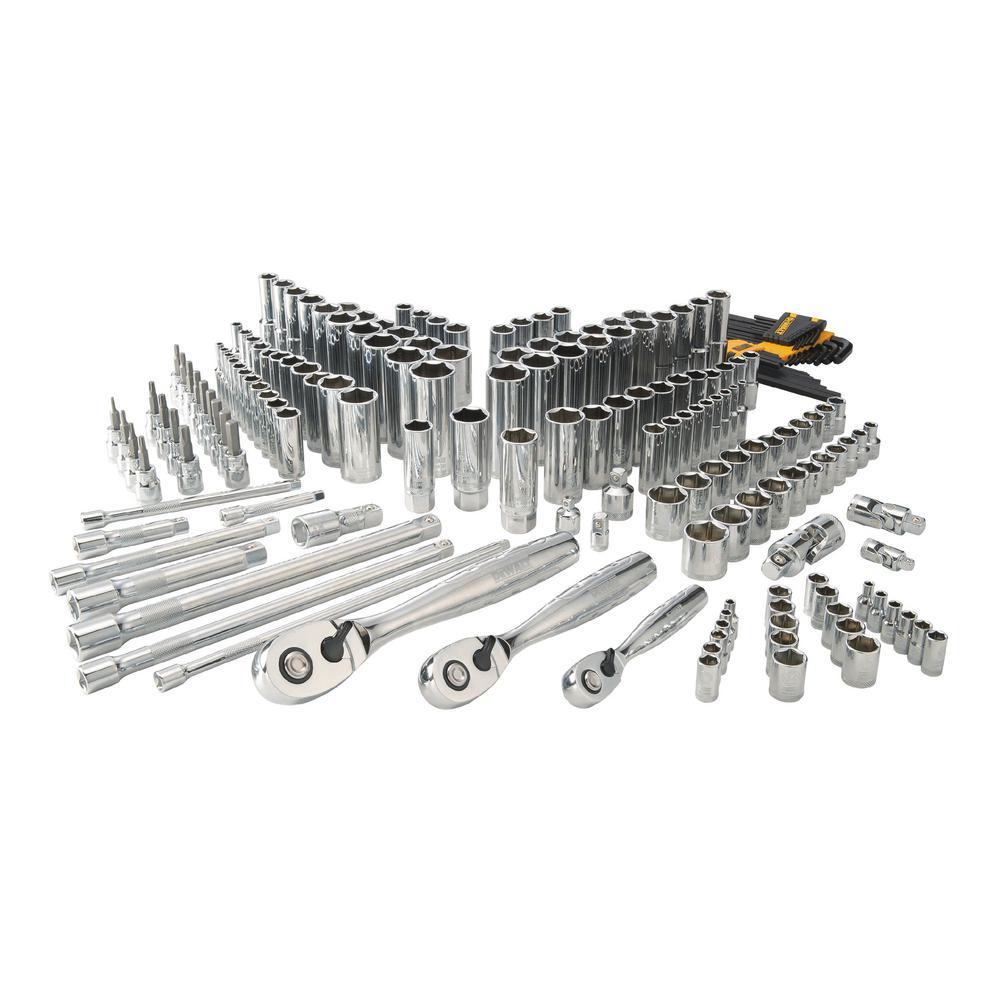 DeWALT Chrome Vanadium Mechanics Tool Set (192-Piece)