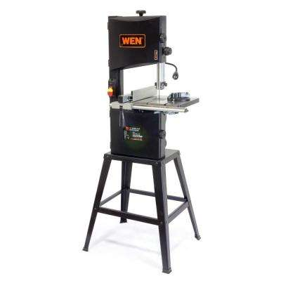 3.5 Amp 10 in. 2-Speed Band Saw with Stand and Worklight