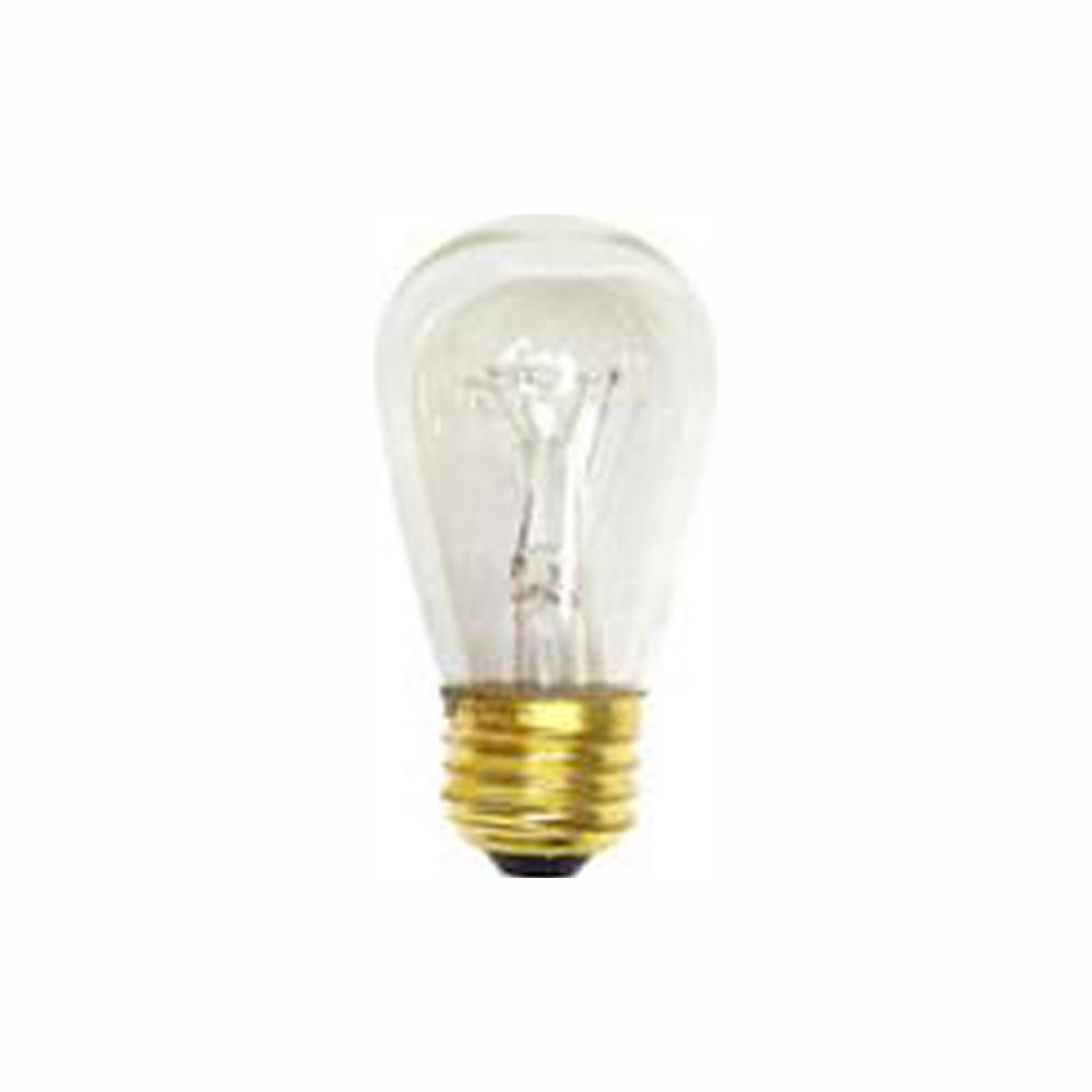 Halco Lighting Technologies 11 Watt S14 Incandescent Light Bulb 25 Pack 9051