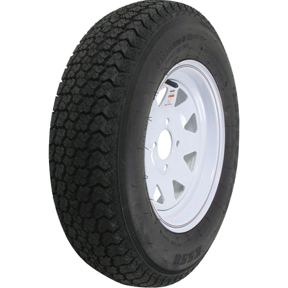 Loadstar 1650 lb. Load Capacity Galvanized Solid Center Steel Wheel Rim by Loadstar