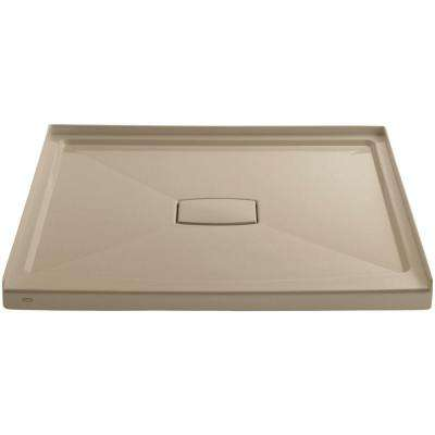 Archer 48 in. x 48 in. Single Threshold Shower Base in Mexican Sand