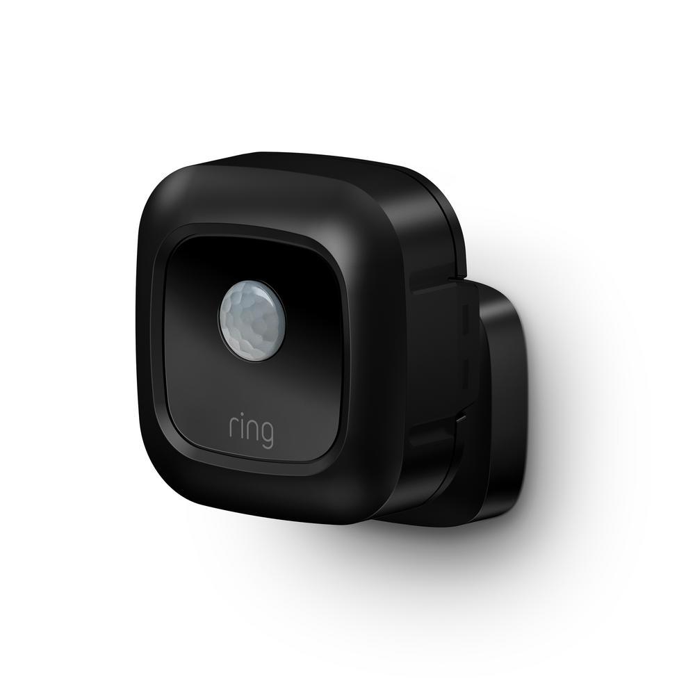 Black Smart Lighting Motion Sensor
