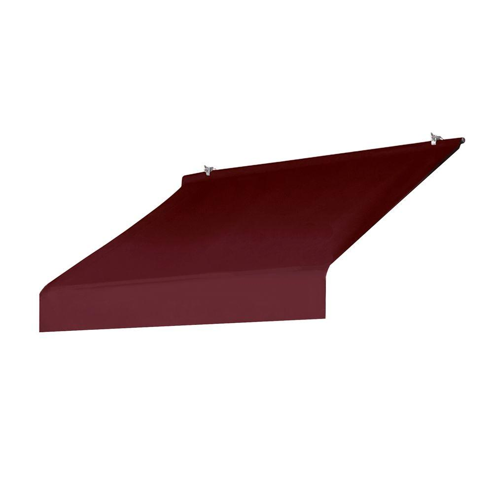 Awnings In A Box 4 Ft Designer Awning Replacement Cover In Burgandy