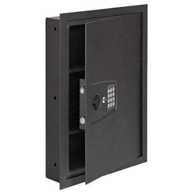 In Wall Safe 16.25 in. W x 22 in. H x 4 in. D with Digital Lock