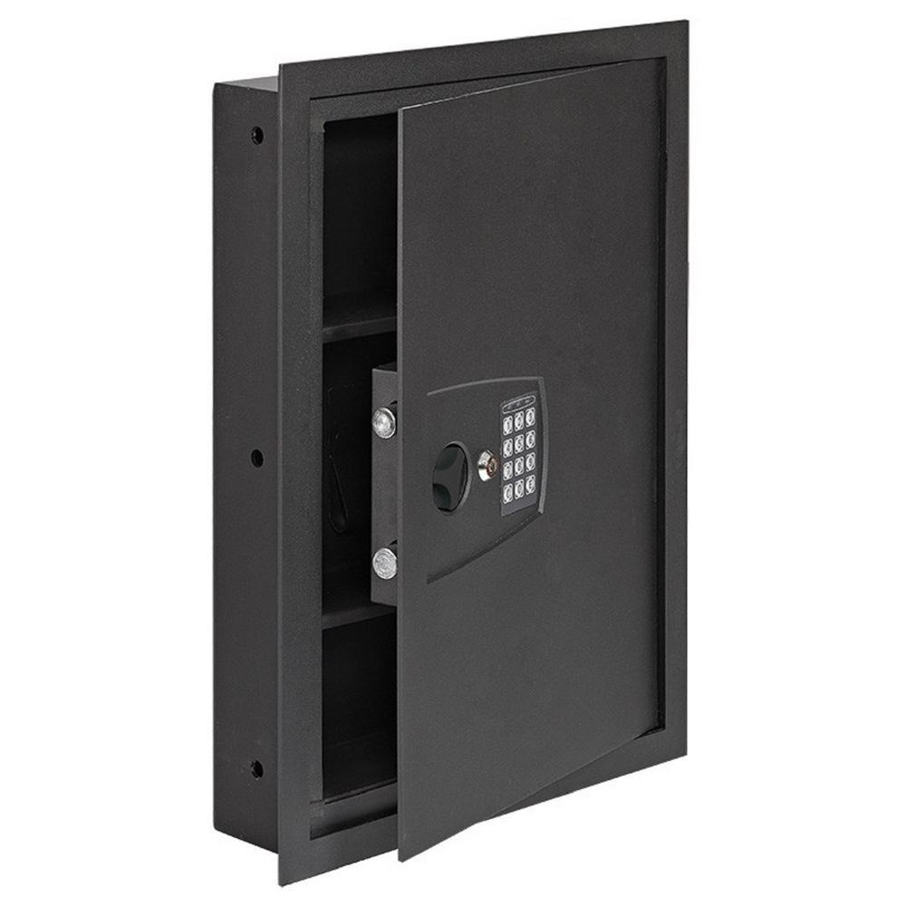 In Wall Safe 16.25 in. W x 22 in. H x 4 in. D with Digital Lock