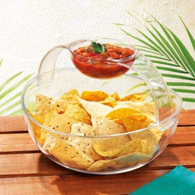 Del Sol Acrylic 2pc Chip and Dip Set