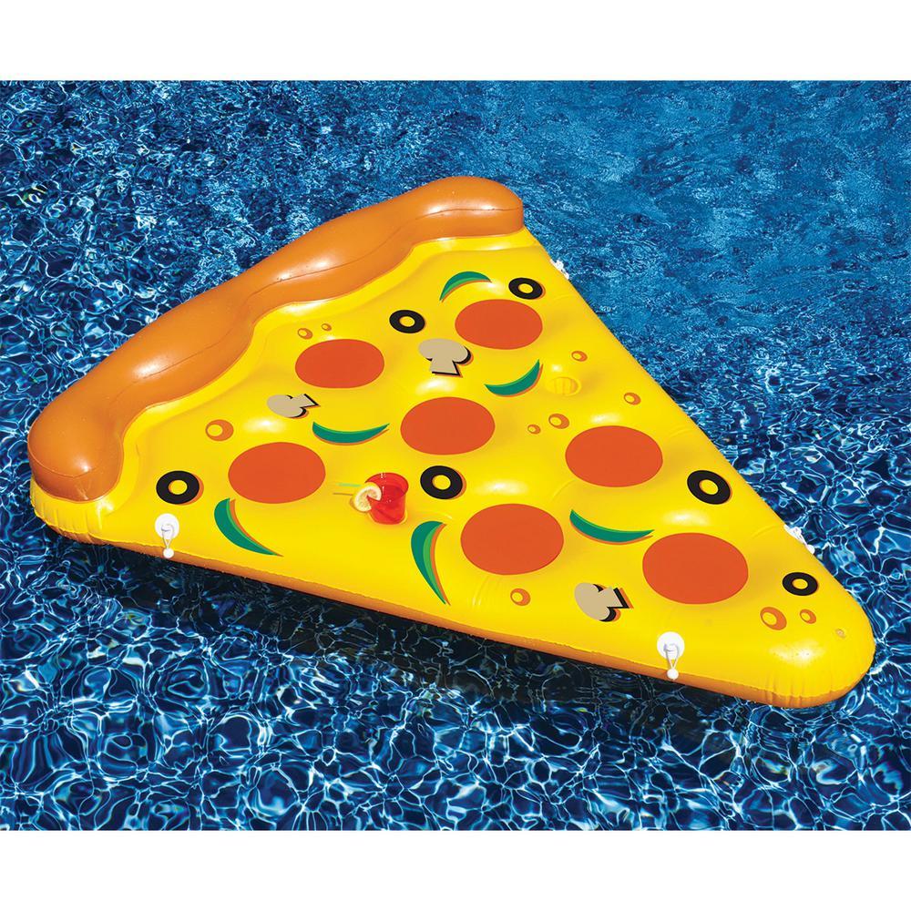 70 in. Pizza Slice Pool Float