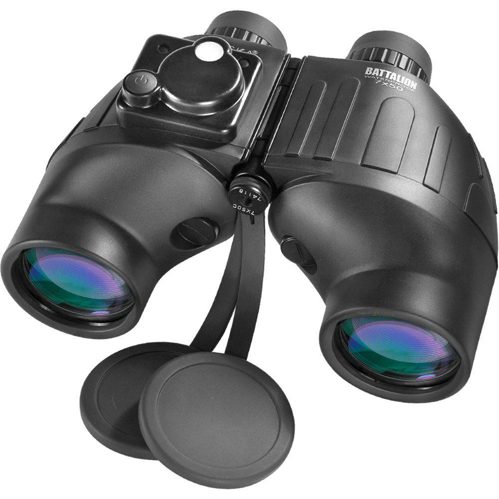 Battalion 7x50 Waterproof Binoculars with Reticle