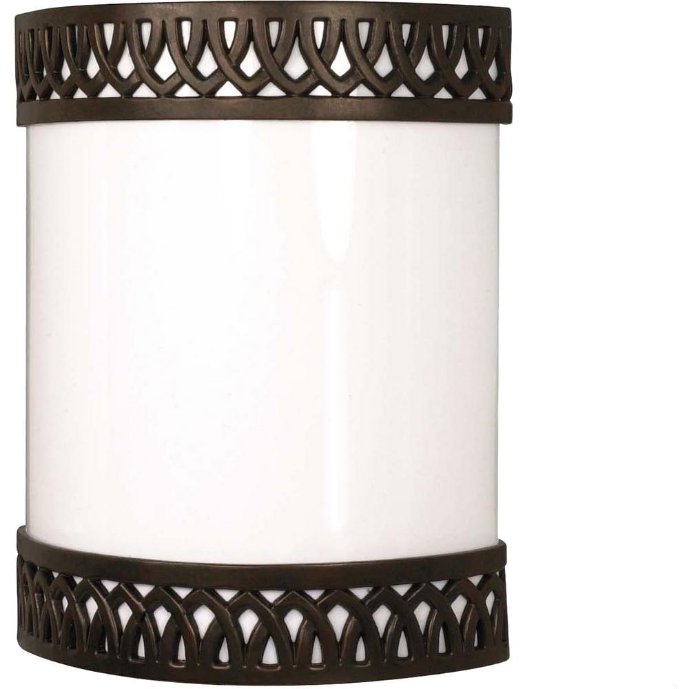 1-Light Old Bronze Sconce