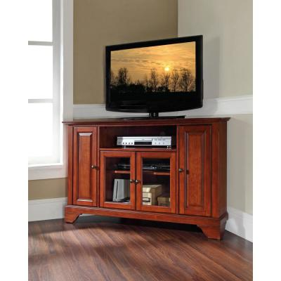 Sauder Palladia Select Cherry Storage Entertainment Center 411626