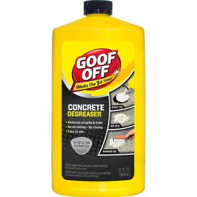 32 oz. Concrete Cleaner Degreaser