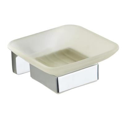 General Hotel Wall-Mounted Soap Dish in Chrome