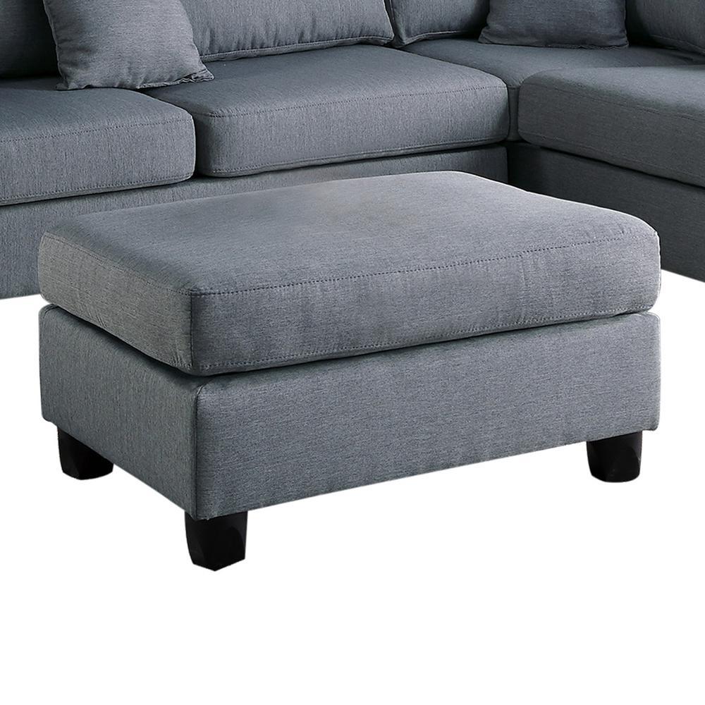 Super Venetian Worldwide Madrid 3 Piece Reversible Sectional Sofa Bralicious Painted Fabric Chair Ideas Braliciousco