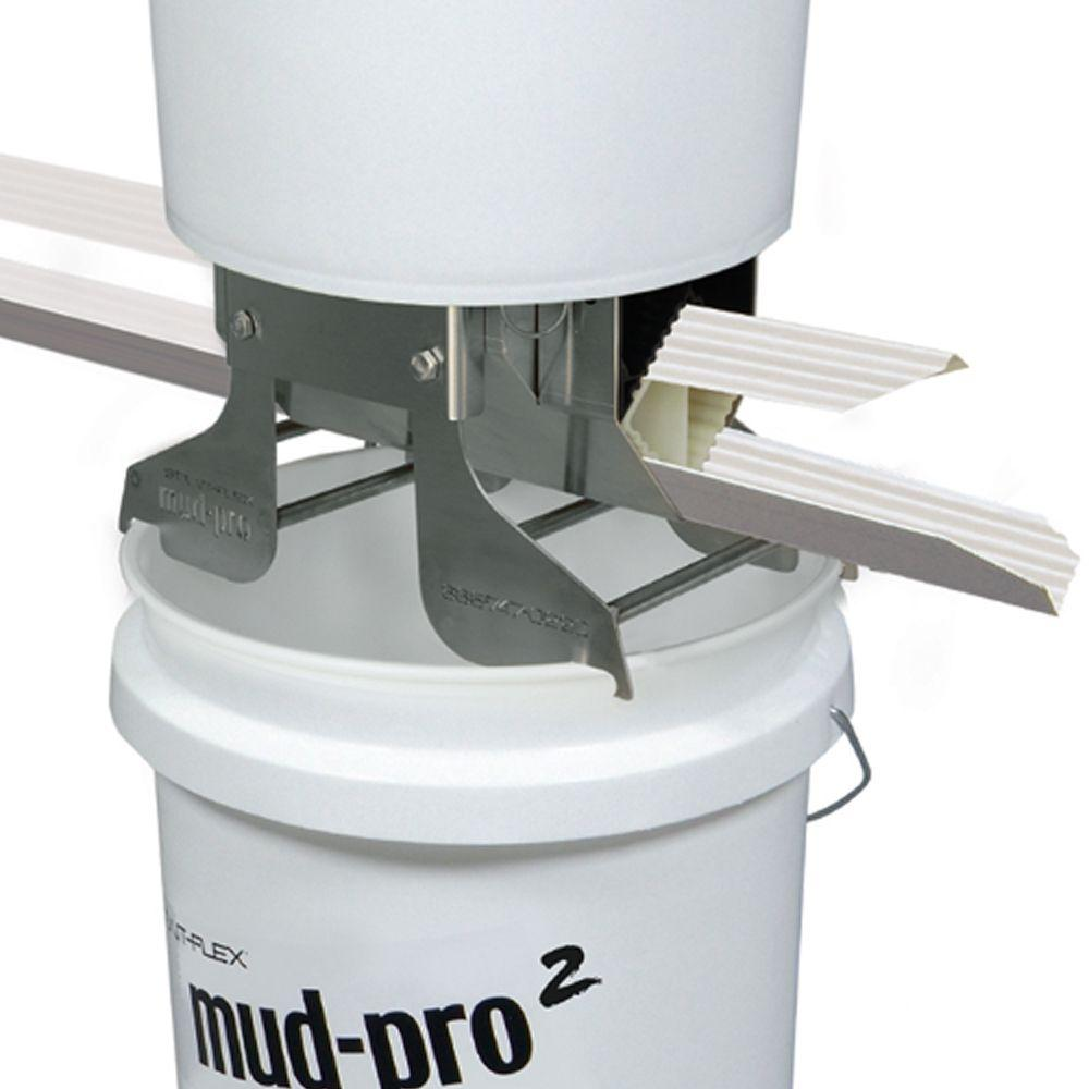 13 in. x 10 in. x 5.5 in. Mud-Pro2 Mounted Drywall