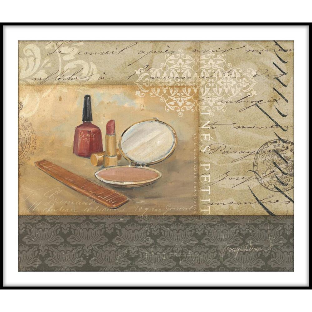 9.75 in. x 11.75 in. ''Bath and Beauty II'' Framed Wall Art