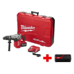 Milwaukee M18 FUEL 18-Volt Lithium-Ion Brushless Cordless 1-9/16 inch SDS-Max Rotary Hammer Kit with Free... by Milwaukee
