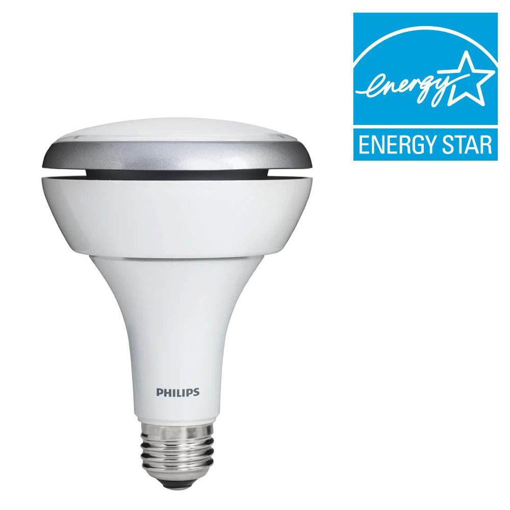 Philips 65W Equivalent Soft White (2700K) BR30 LED Flood Light Bulb