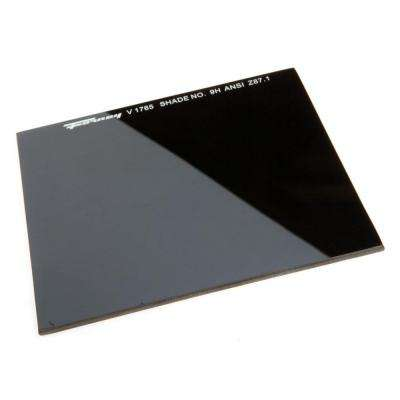 4-1/2 in. x 5-1/4 in. #9 Shade Hardened Glass Replacement Lens