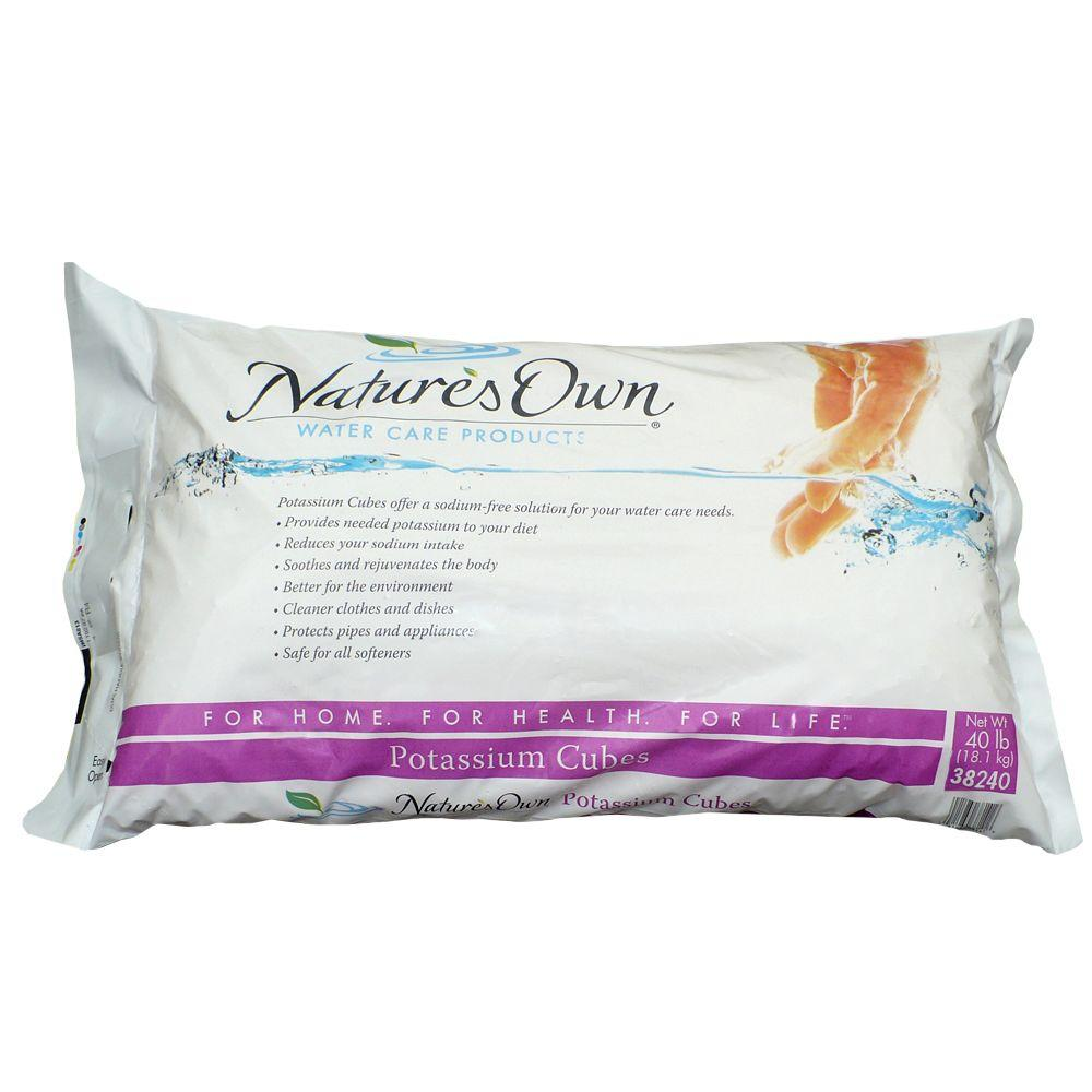 Nature's Own 40 lb. Potassium Chloride Crystal Cubes