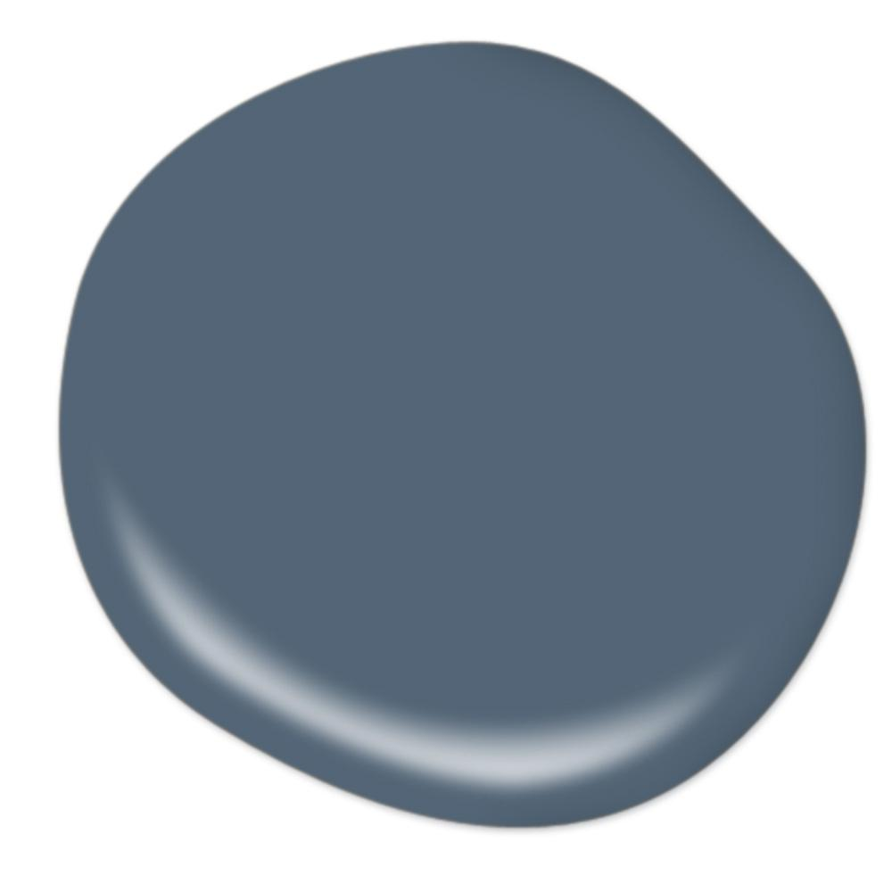 Behr Mood Indigo paint color for a beautifully moody and classic look for your space.