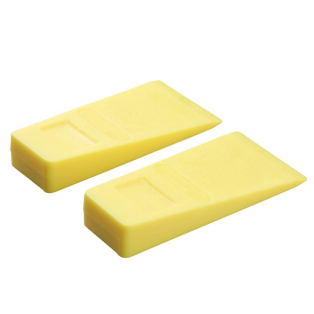 5 in. Plastic Felling Wedge (2-Pack