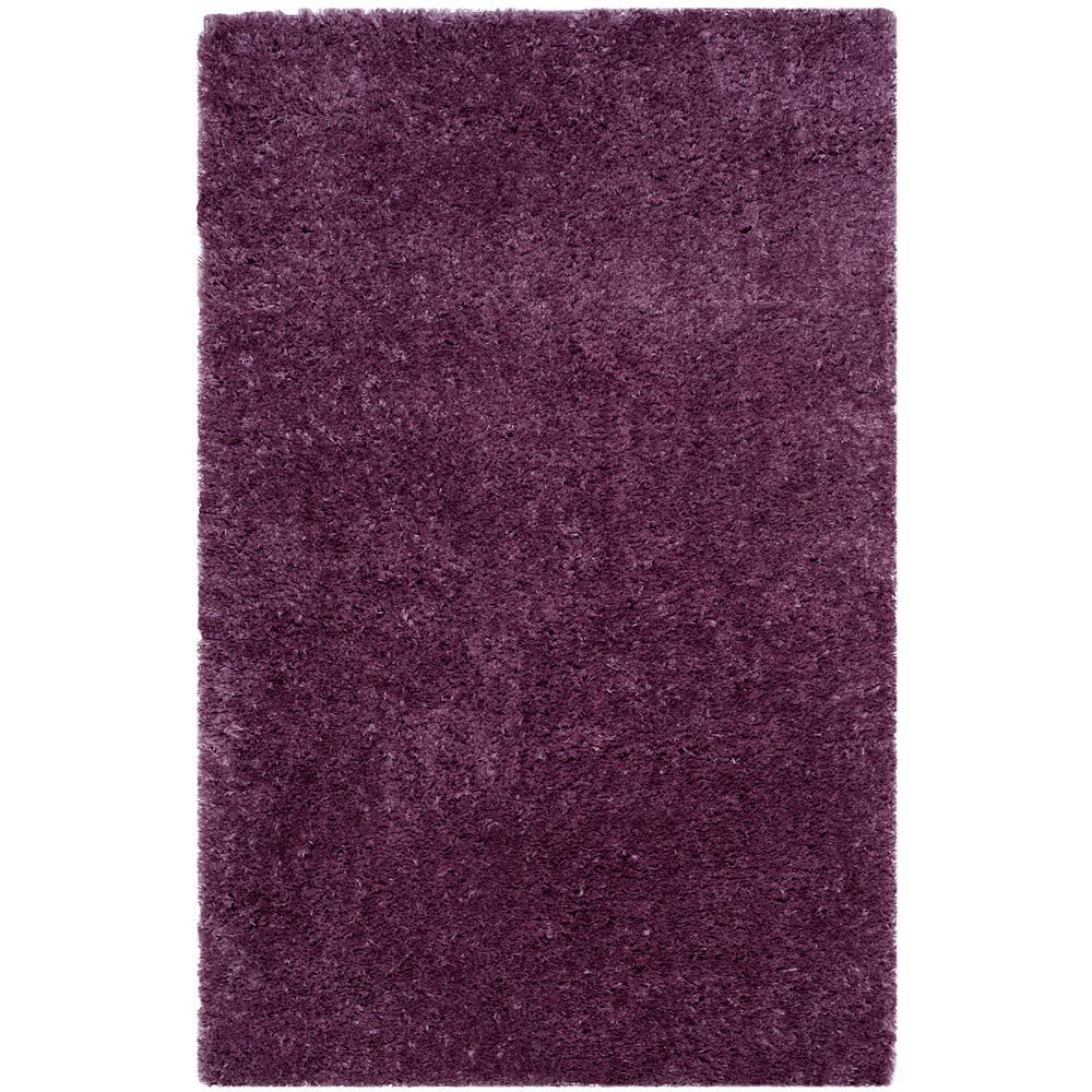 Purple Shag Area Rugs Rugs The Home Depot
