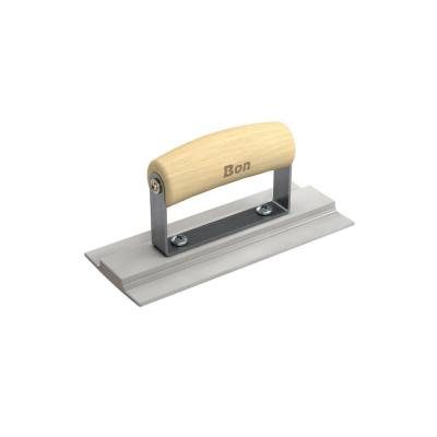 7-1/2 in. x 3-1/8 in. Magnesium Formed Wall Float with Wood Handle