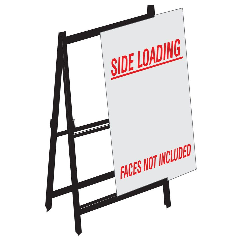 Lynch Sign 48 in. x 32 in. Side Loading A-Frame