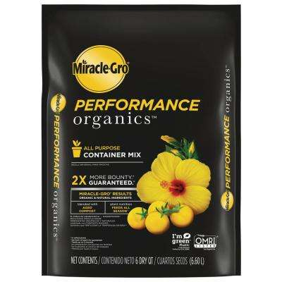 6 qt. Performance Organics All Purpose Potting Soil Mix