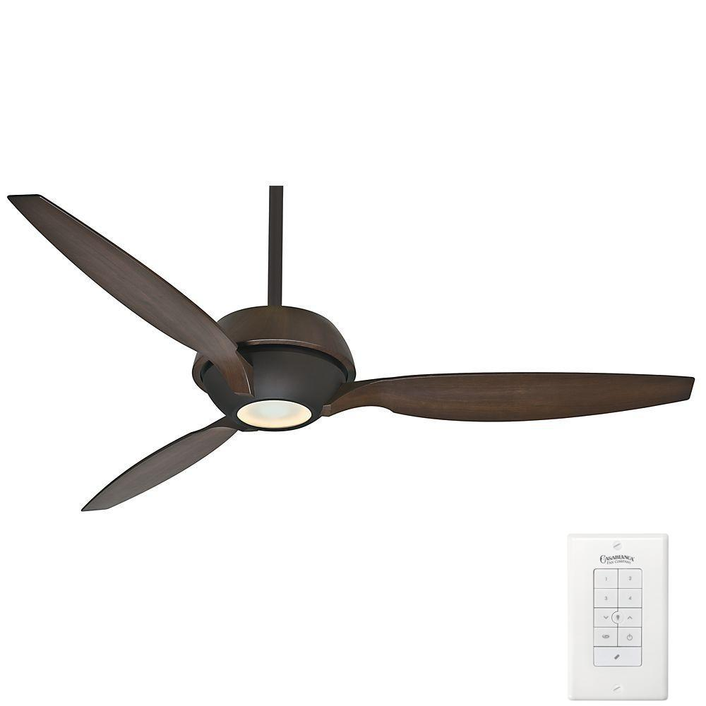 Best Ceiling Fan For Large Great Room: Casablanca Riello 60 In. Indoor Mainden Bronze Ceiling Fan