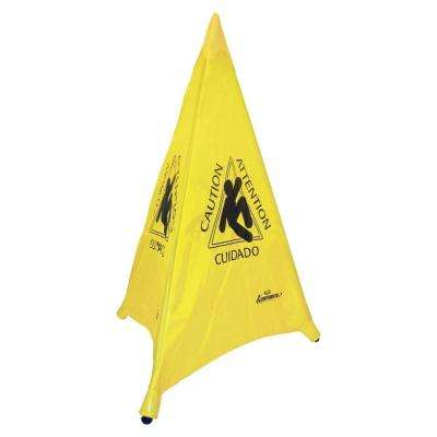 30 in. International Pop-Up Safety Cone