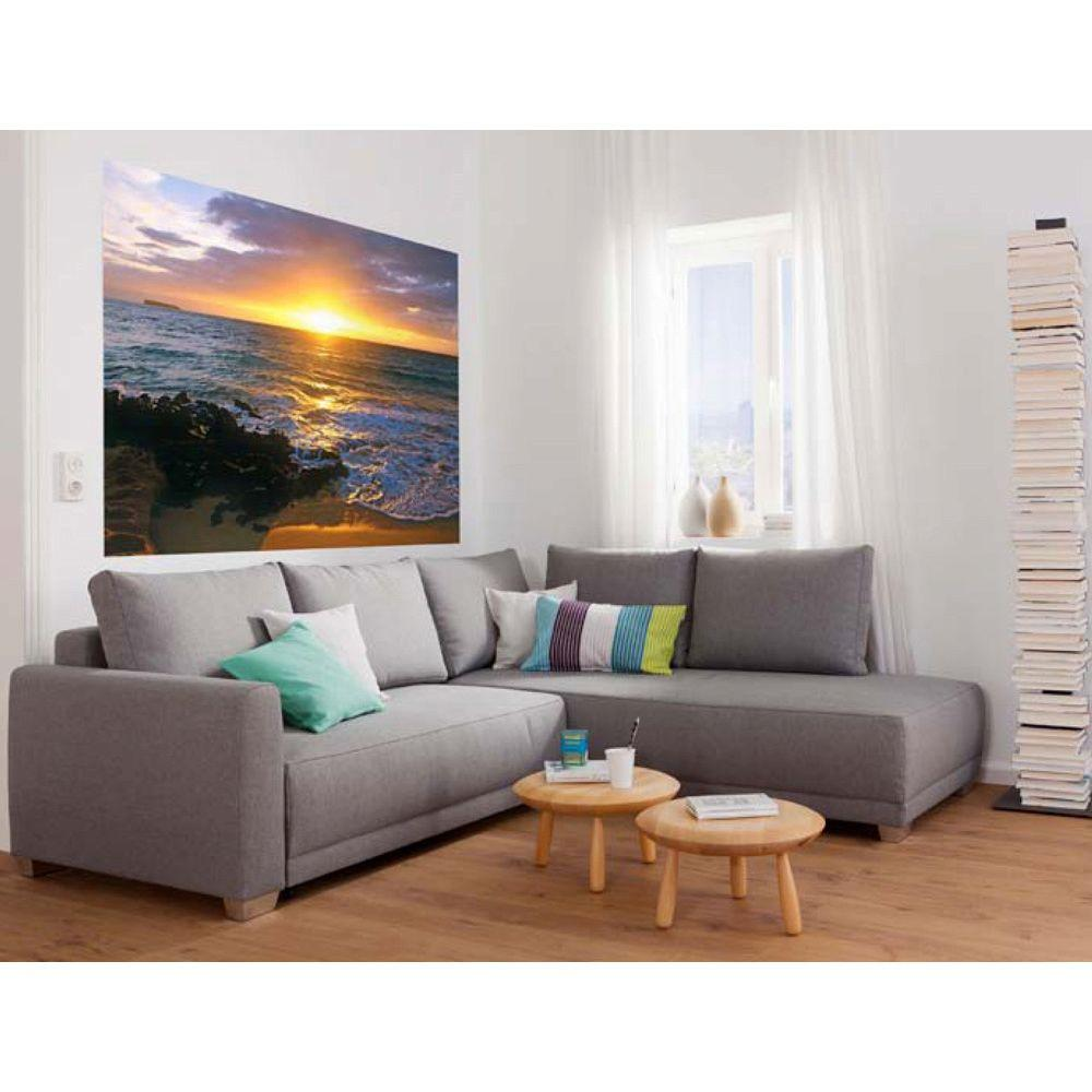 National Geographic 50 in. x 72 in. Makena Beach Wall Mural