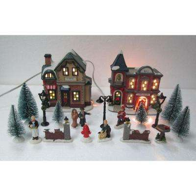 Christmas Villages Sets - Christmas Villages - The Home Depot