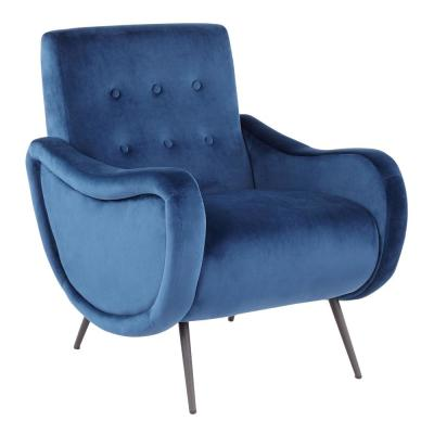 Admirable Blue Fabric Living Room Furniture Furniture The Home Beatyapartments Chair Design Images Beatyapartmentscom